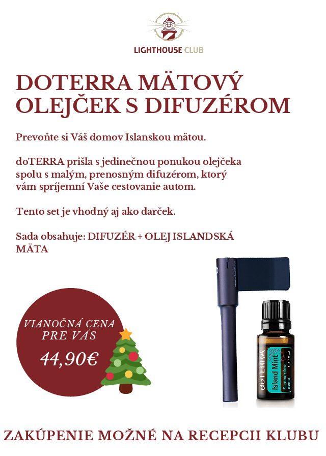 Vianočná ponuka doterra